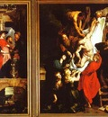 Peter Paul Rubens The Descent from the Cross Left