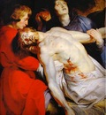 Peter Paul Rubens The Entombment detail