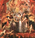Rubens An Exchange of Princesses, 1621 1625, Louvre