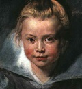 Rubens Childs head, 1618, Leichtenstein Collection Vaduz, L