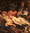 Rubens Cimone and Efigenia, approx  1617, oil on canvas, Art
