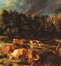Rubens Landscape with Cows ca 1636 Alte Pinakothek Munchen