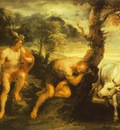 Rubens Mercury and Argus 1635 38 Gemaldegalerie Dresden