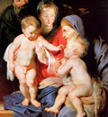 Rubens Peter Paul Holy family Sun