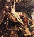 Rubens Raising of the Cross detail1