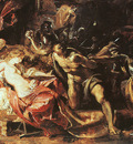 Rubens The Capture of Samson, 1609 10, oil on panel, The Art
