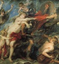 Rubens The Consequences of War Palazzo Pitti