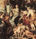 Rubens The Happiness of the Regency 1623 25 Louvre
