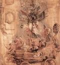 Rubens The Triumphal Car of Kallo Sketch