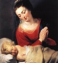 Rubens Virgin in Adoration before the Christ Child