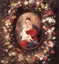 The Virgin and Child in a Garland of Flower WGA