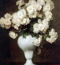 Rueter Wilhelm Christiaen Georg Vase with flowers Sun