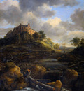 Ruisdael van Jacob Castle Bentheim Sun