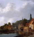Ruysdael van Jacob View of Weesp Sun