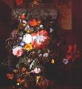 ruysch roses convolvulus poppies etc c1745