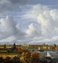 Ruysdael van Jacob View on Amsterdam Sun