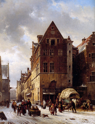 Ruyten Jan Winter cityview