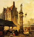 Ruyten Jan Michiel A Busy Market