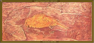 albert p ryder the dead bird 1890 1900 po amp