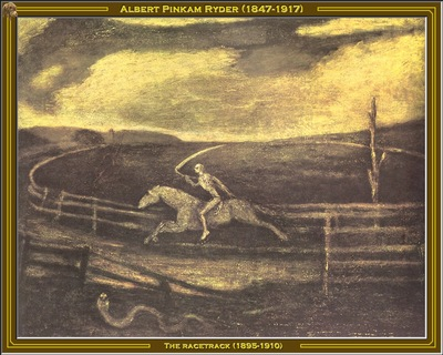 albert p ryder the racetrack 1895 1910 po amp