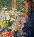 Theo Van Rysselberghe Garden Flowers, De