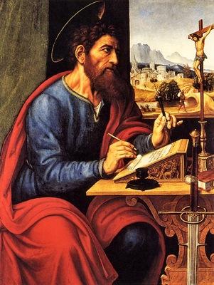 Pier Francesco Sacchi St Paul Writing, De
