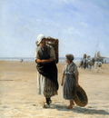 Sadee Phillip Lodewijk Return from the beach Sun