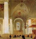 Saenredam Pieter Jansz Nieuwe Kerk Haarlem Sun