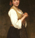 Salanson Eugenie Marie A Young Shepherdess