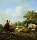Sande Bakhuyzen van de Hendrik Self portrait Sun