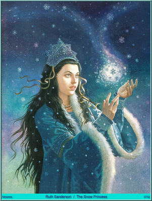 Ruth Sanderson The Snow Princess Abraxsis