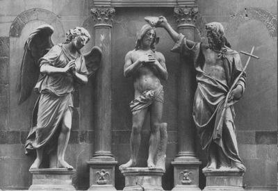 sansovino andrea baptism of christ 1502