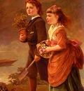 Sant James The Children Of Major H Barrett Of Moredon Taunton