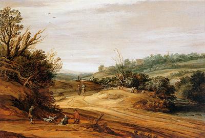 Santvoort van Pieter Dune landscape Sun
