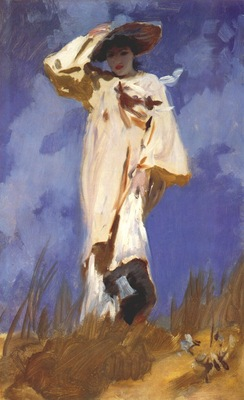 sargent a gust of wind c1883