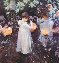 sargent carnation lily lily rose 1885