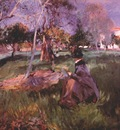 sargent in the orchard c1886
