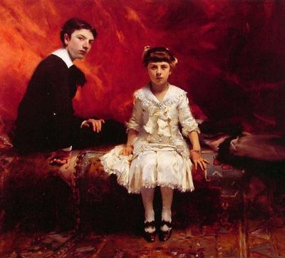 Portrait of Edouard and Marie Loise Pailleron