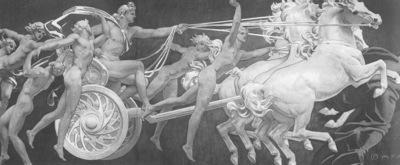 Sargent Apollo in His Chariot with the Hours