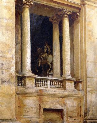 Sargent John Singer A Window in the Vatican