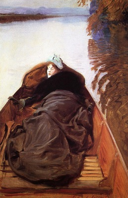 Sargent John Singer Autumn on the River aka Miss Violet Sargent