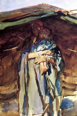 Sargent John Singer Bedouin Mother