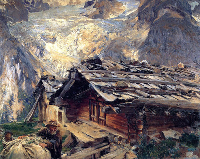 Sargent John Singer Brenva Glacier