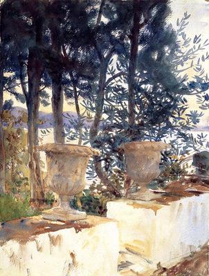 Sargent John Singer Corfu The Terrace