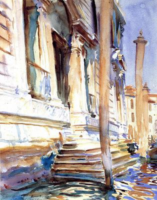 Sargent John Singer Doorway of a Venetian Palace
