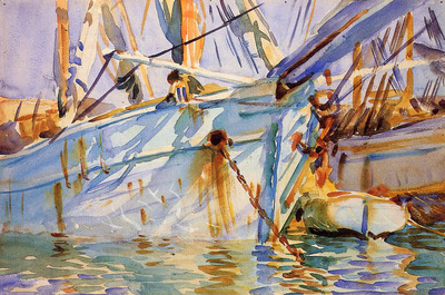 Sargent John Singer In a Levantine Port