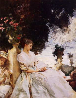 Sargent John Singer In the Garden Corfu