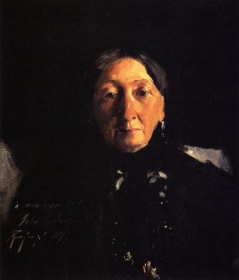 Sargent John Singer Madame Fraancois Buloz