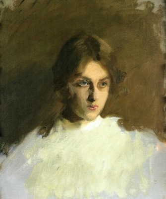 Sargent John Singer Portrait of Edith French