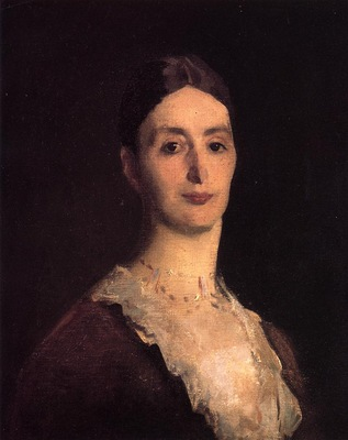 Sargent John Singer Portrait of Frances Mary Vickers